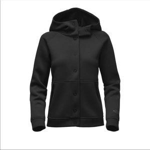Northface thermal 3D snap hoodie- Large
